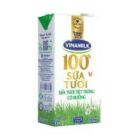 Sữa Tiệt Trùng Có Đường Vinamilk 1L (1 Hộp)-8934673573399